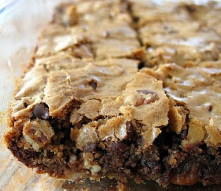 Blondies - infinitely adaptable. Add in: dark/white/milk chocolate ...
