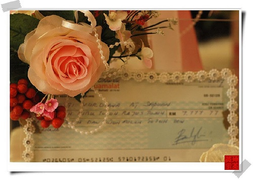 ... cheque for a wedding giftCheque Mate: Wedding Check Writing Tips