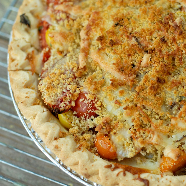 Fresh Savory Tomato Pie: My All Time Favorite Summertime Recipe ...