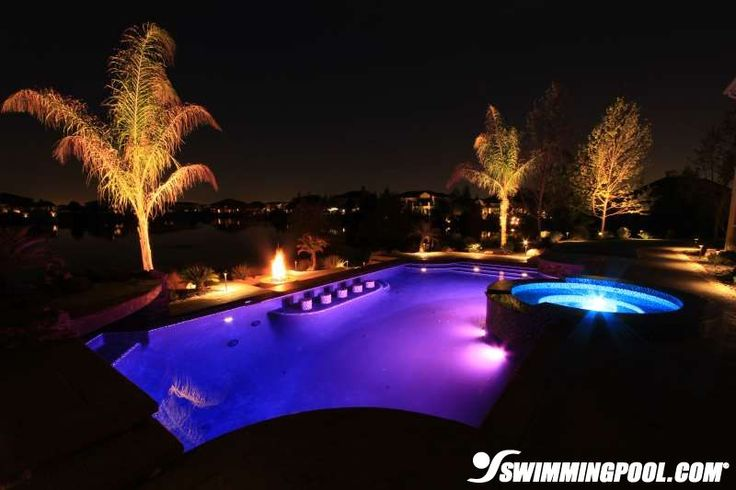 Light show inground swimming pool dream homes pools for Show pool status not found