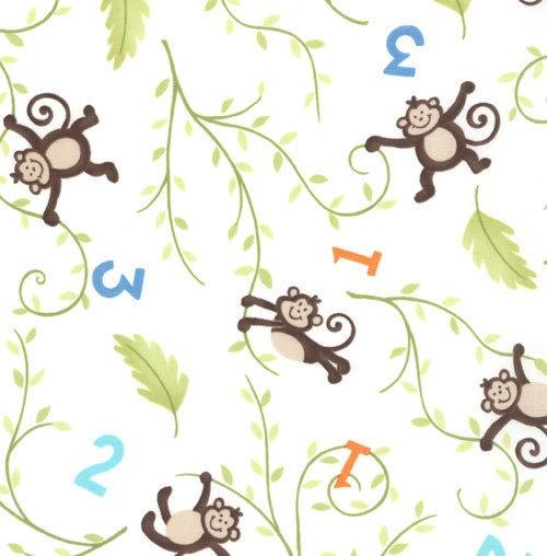 Monkey fabric for Baby monkey fabric prints