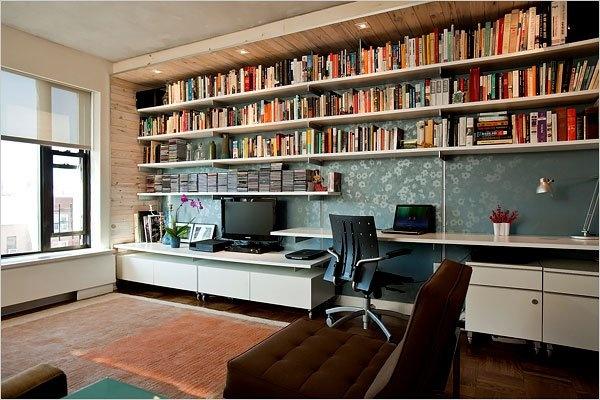 Modern minimalist bookshelf design dekor pinterest for Modern minimalist bookcase