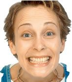 Your facial expresions that are exaggerated