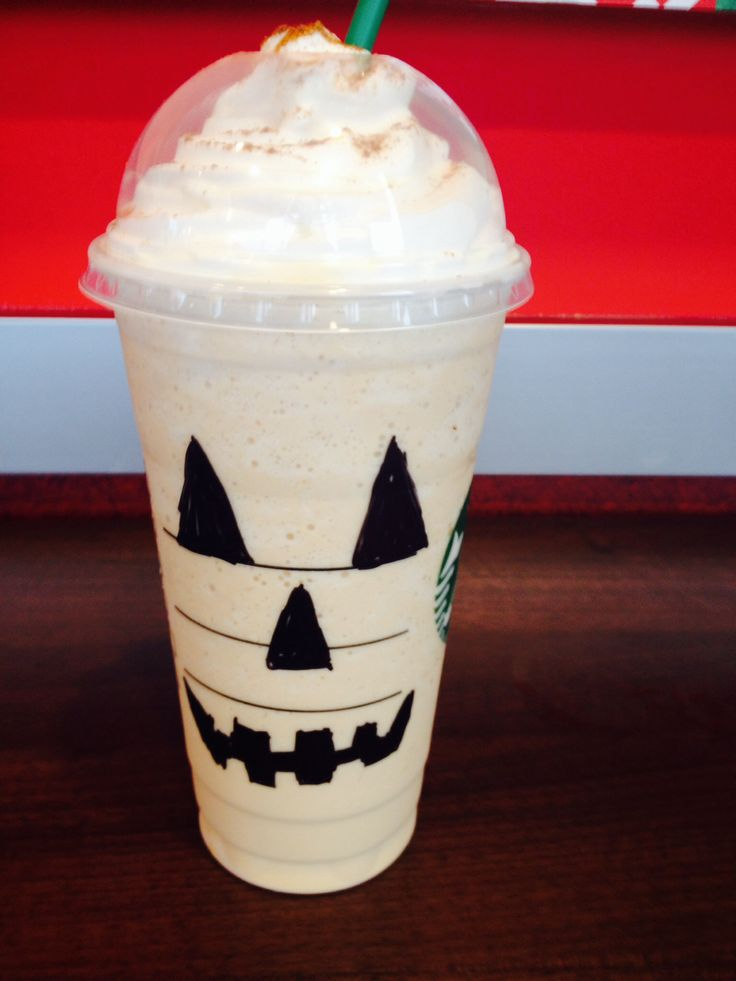 of milk. - Four pumps of pumpkin spice syrup -Three pumps of Hazelnut ...