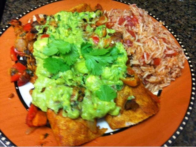 Vegan Enchiladas With Cilantro Avocado Cream Sauce Recipe — Dishmaps