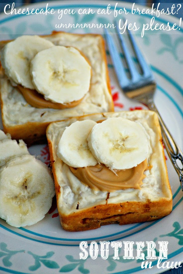 Sugar Free Baked Banana Cheesecakes Recipe - Breakfast Cheesecakes ...