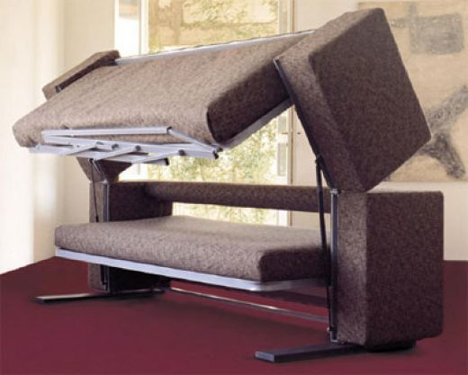 This sofa turns into bunk beds transformer couch - Bunk bed that turns into couch ...
