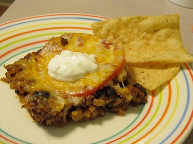Mexican Rice Casserole   Favorite Recipes   Pinterest