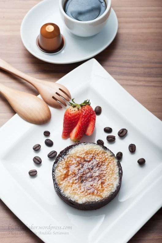 Chocolate and Espresso Creme Brulee Tart | Sweets | Pinterest