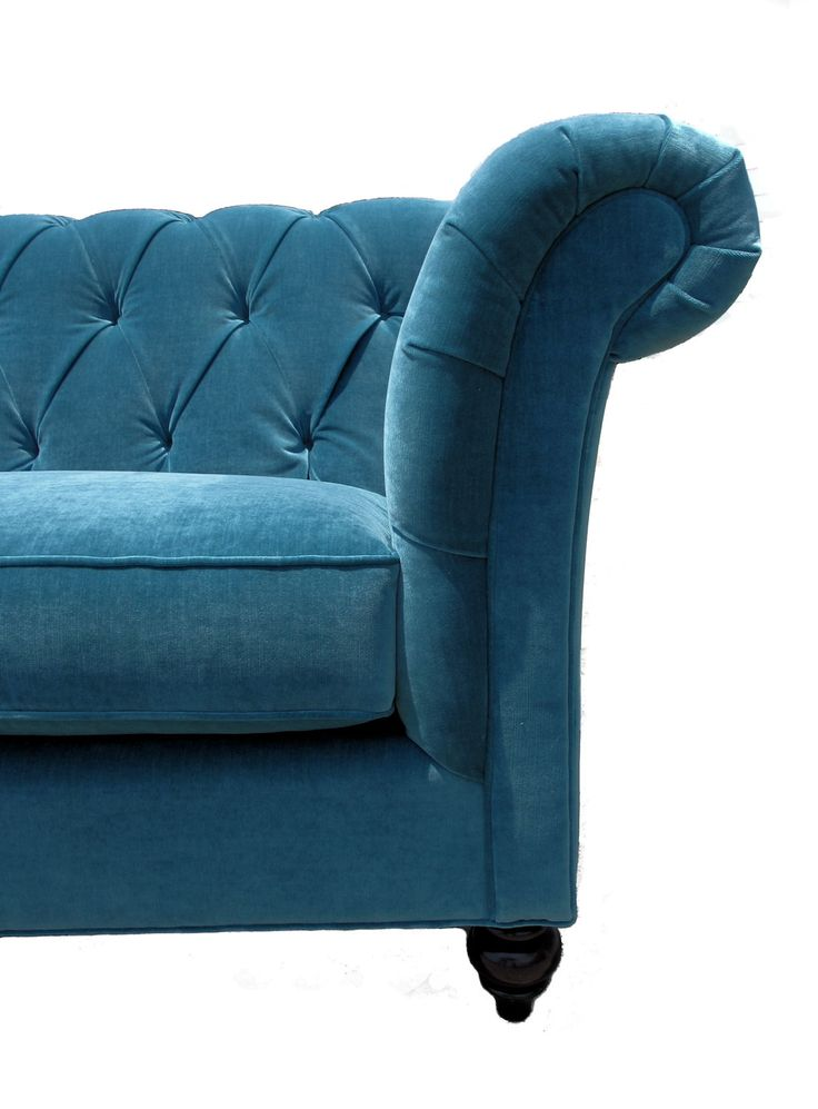 Chesterfield Teal Sofa Home Ideas Pinterest