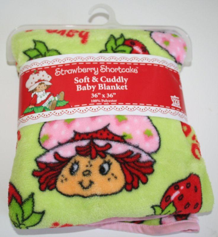 Strawberry Shortcake Soft & Cuddly Baby Blanket