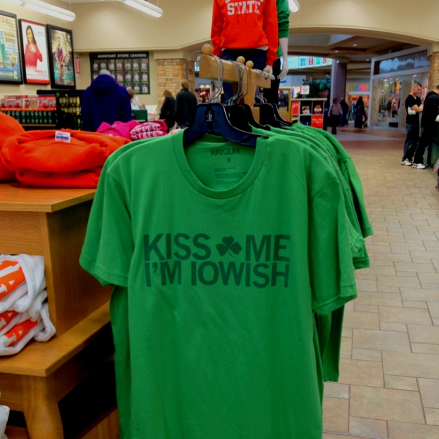 Kiss Me I'm Iowish by Raygun