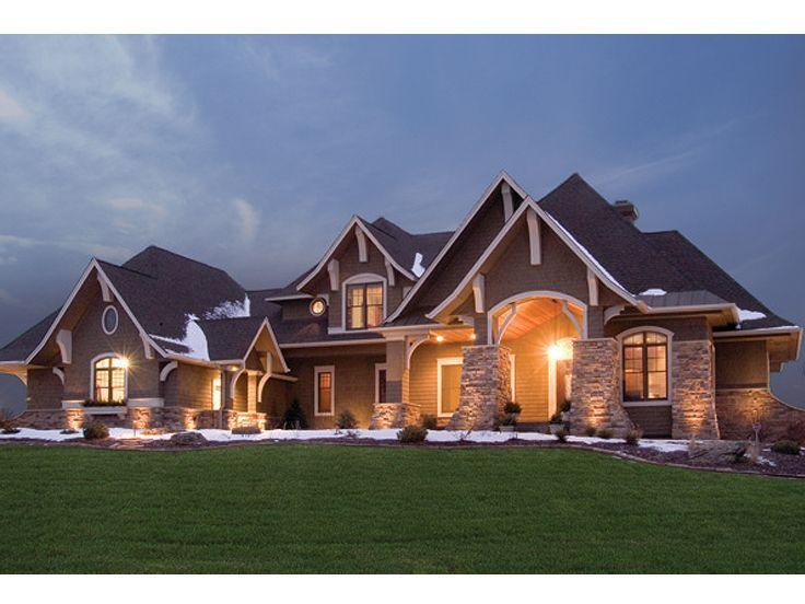 Craftsman style house.