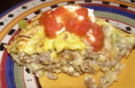 Impossibly Easy Taco Pie from Food.com: No taco shells are needed for ...