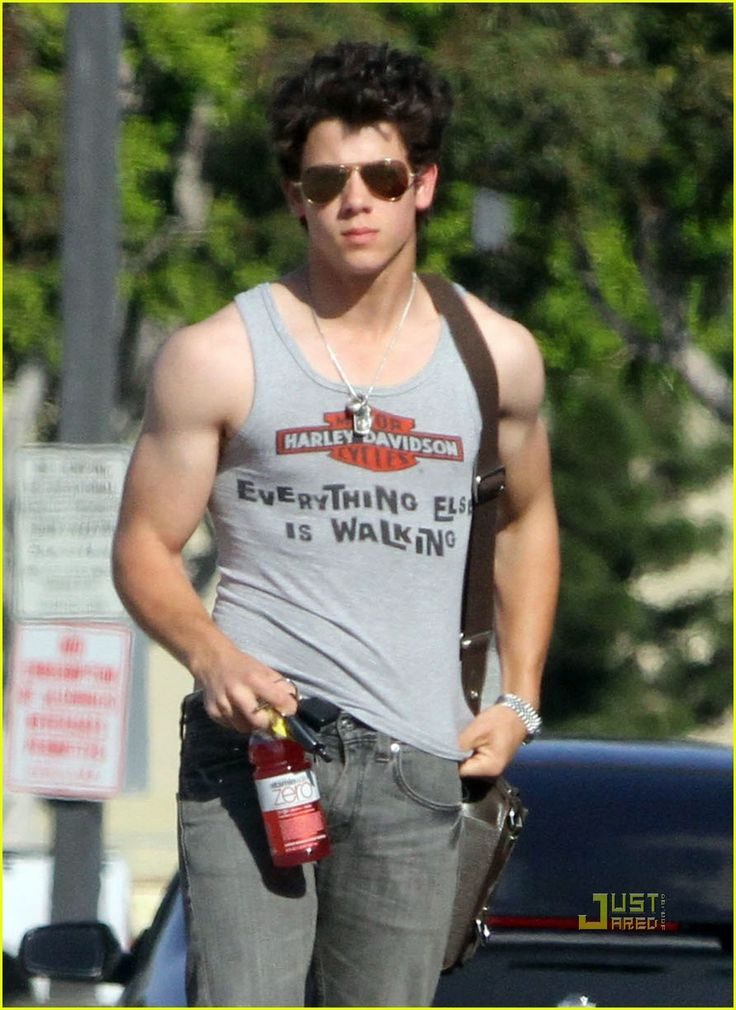 Nicholas Jonas, WHERE DID THIS COME FROM????