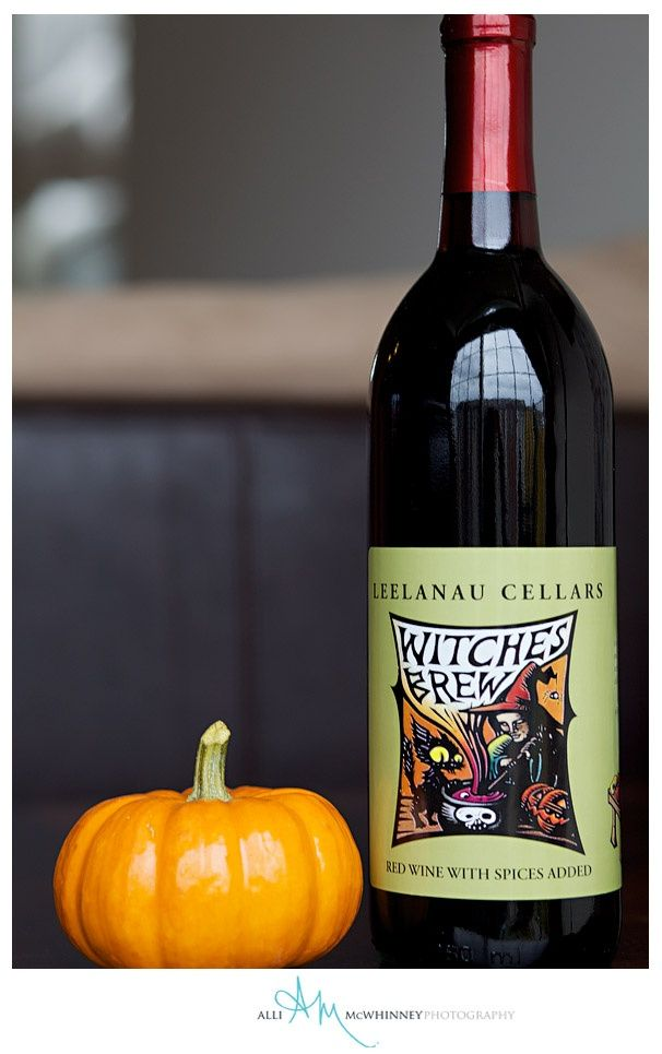 ... with #LeelanauCellars Witches Brew! #Halloween #PMS #trickortreat