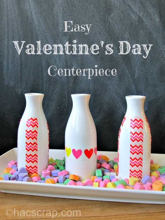 An #easy and #inexpensive #Valentine's Day decoration. #craft