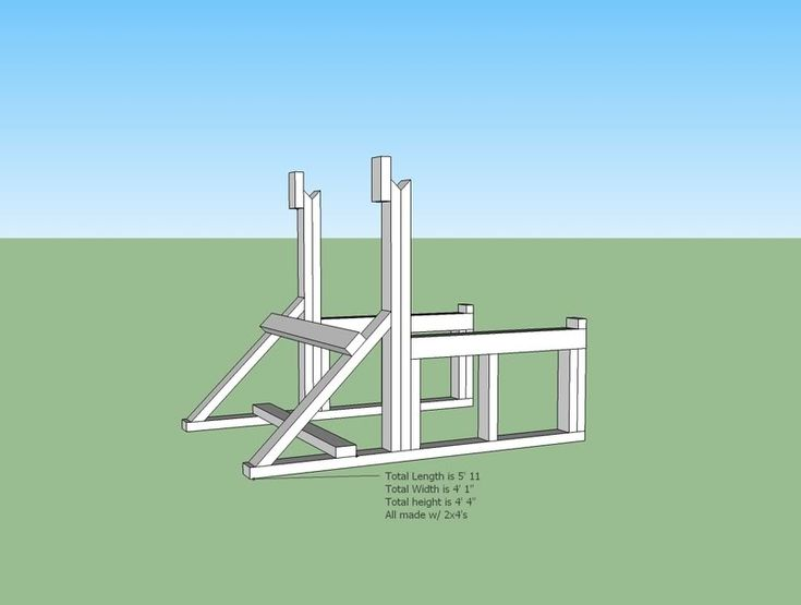 Plans for diy wooden squat rack Things to Build Pinterest