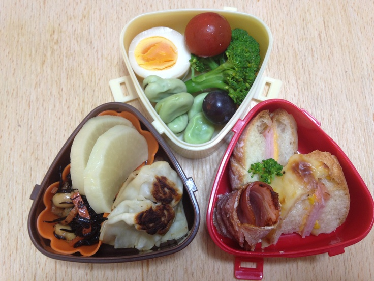 clockmushue bento lunch box japan pinterest. Black Bedroom Furniture Sets. Home Design Ideas