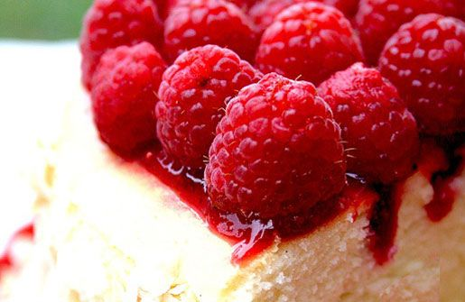 Coconut & Raspberry Cheesecake Recipe | Toasted Coconut