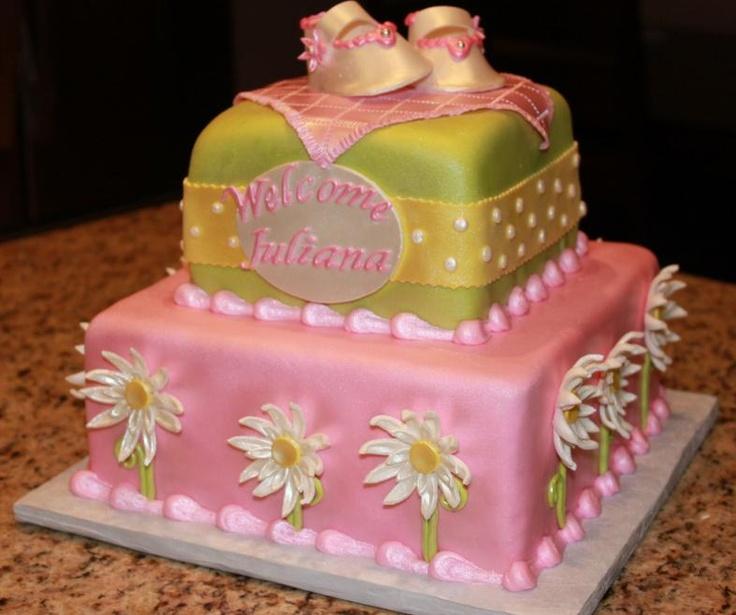 girl baby shower cake Cake Decorating Ideas Pinterest