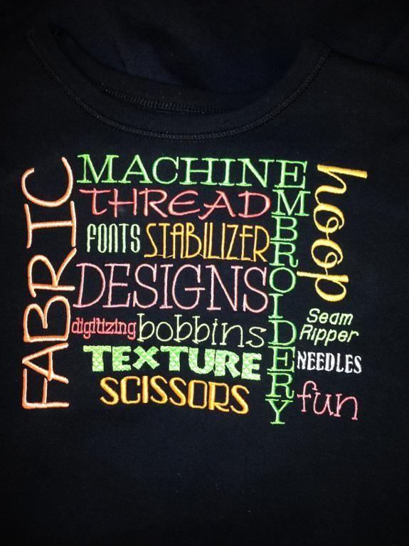 machine embroidery subway