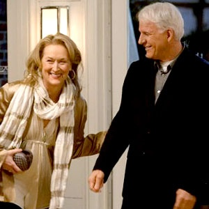 Meryl and Steve Martin in It's Complicated