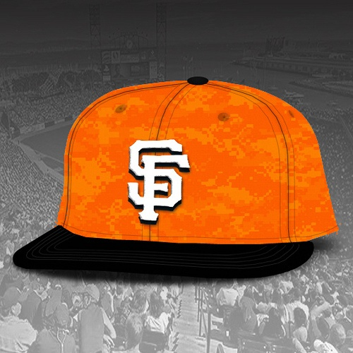 sf giants memorial day hats