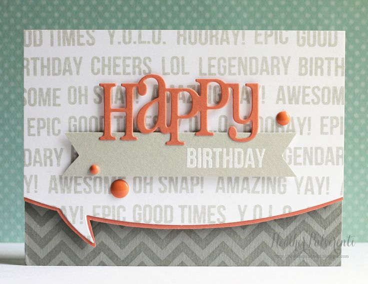 Whimsy Stamps | Happy Birthday Card