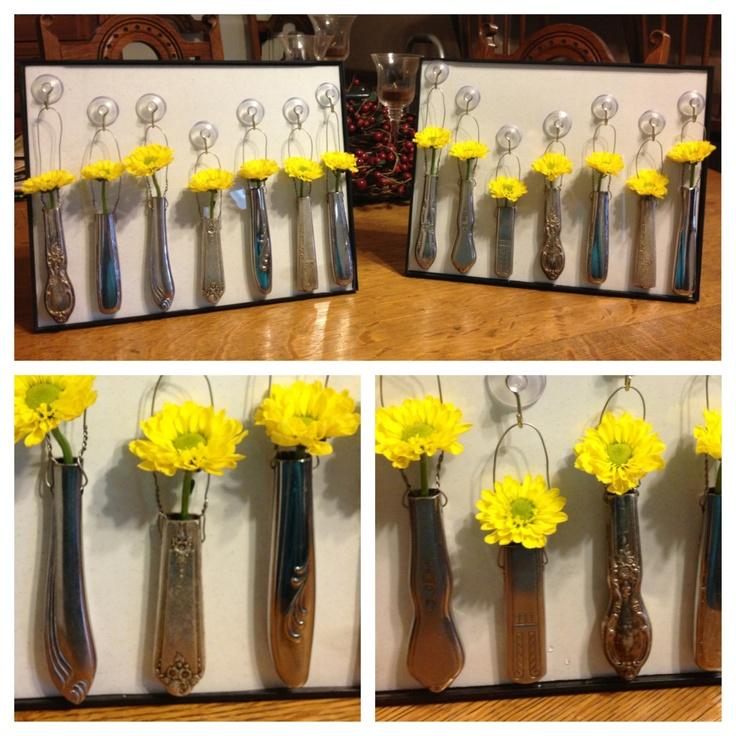 Wedding Gift Knife Penny : Knife-handle bud vases. Ideas Pinterest