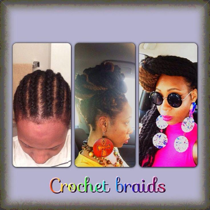 Crochet Braids Pin Up : Crochet braids Marley braid hair styles Pinterest
