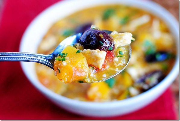 Chicken Stew with Butternut Squash & Quinoa :: be still my heart