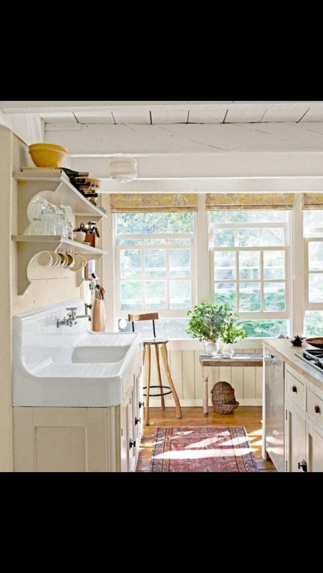 Cream Country kitchen  House Design Ideas  Pinterest