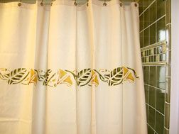 Arts And Crafts Fabrics Curtains Clip Art Shower Curtain