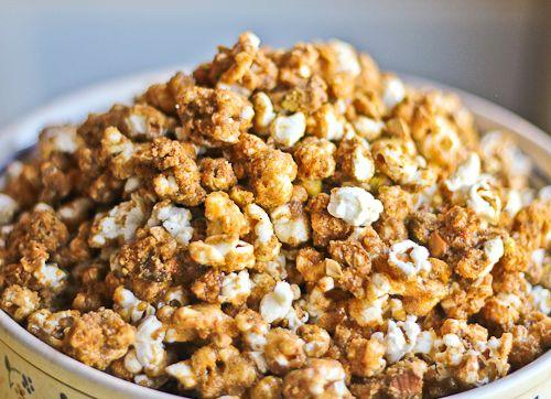 Garam Masala Caramel Corn for The Leftovers Club | Recipe