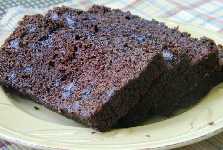 Chocolate Tea Bread ~ Must try! ♥