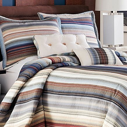 Neutral Retro Chic Bedspread   jcpenney   1st bedroom .   Pinterest