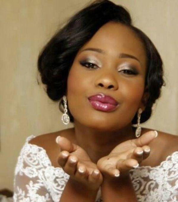Pretty bridal makeup - wedding makeup for black/African American women