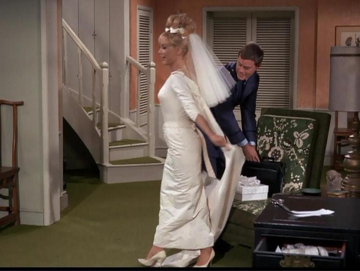 One Of Jeannie S Many Wedding Dresses I Dream Of Jeannie