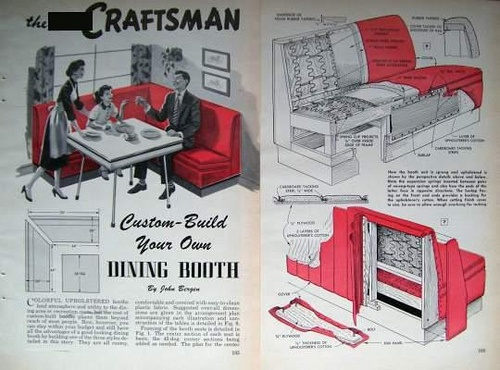 American Diner Seating How To Arrange Furniture In Small