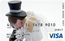 Visa Gift Card As Wedding Gift : Kissing Figurines Visa Gift Card funny wedding gift Laugh it Off ...