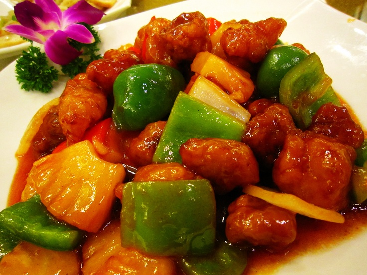 Sweet and sour pork recipe recipe dishmaps forumfinder Choice Image