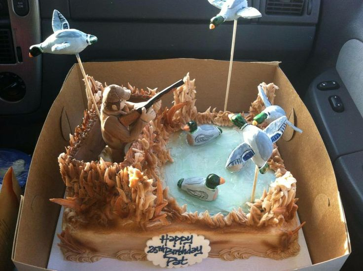 Duck Hunting Cake Ideas 36736 Duck Hunting Cake Party Idea