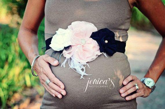 Maternity Sash by LiddieMae