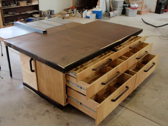 Outfeed/Assembly Table - by Thepps @ LumberJocks.com ~ woodworking ...