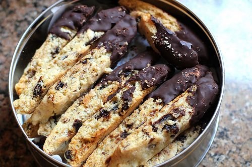 cherry almond biscotti | Recipes | Pinterest
