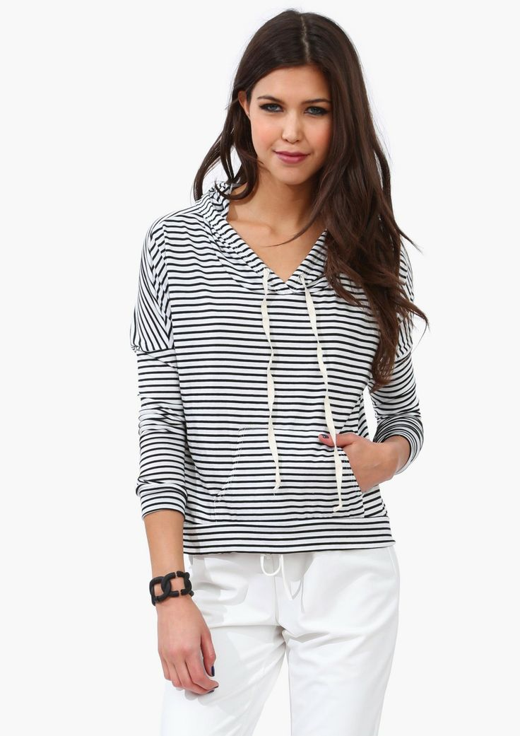 Stripe Hoodie: Love it
