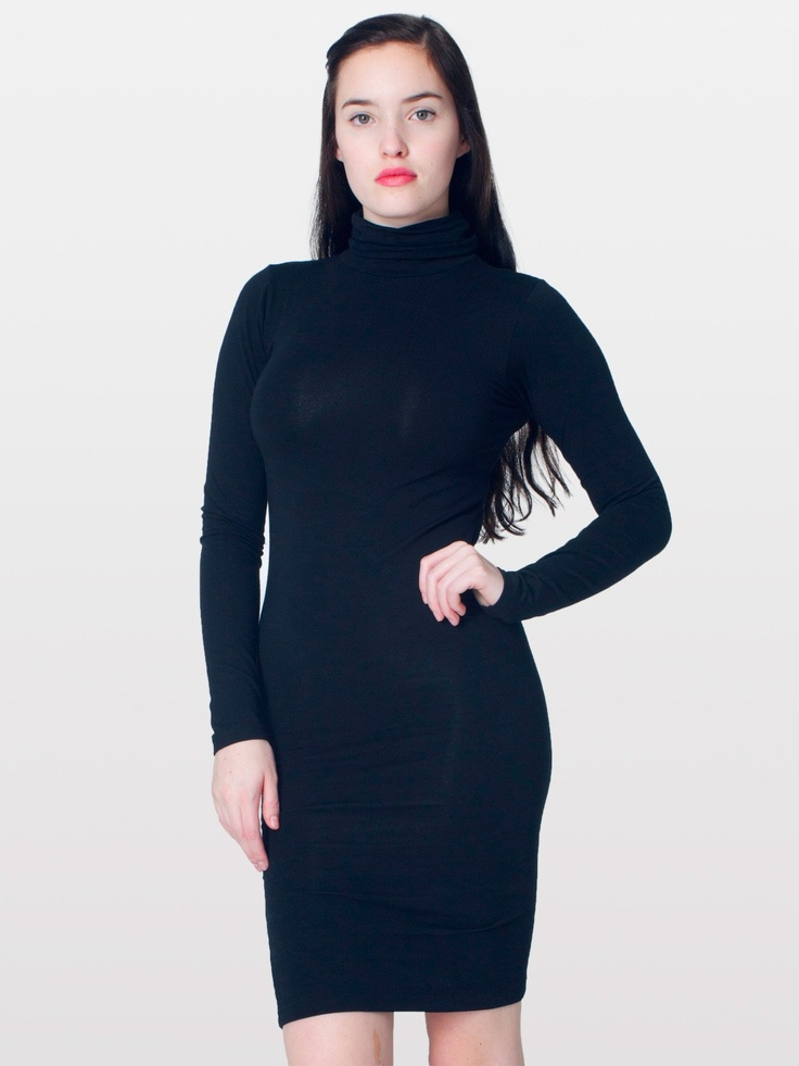 Long Sleeve Turtleneck Dress Thefind Every Store All At Once ...