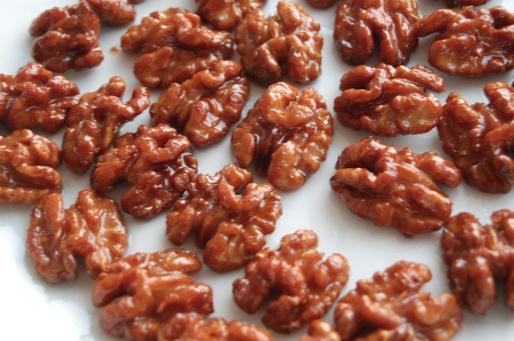 Honey-Candied Walnuts | Food and drinks | Pinterest