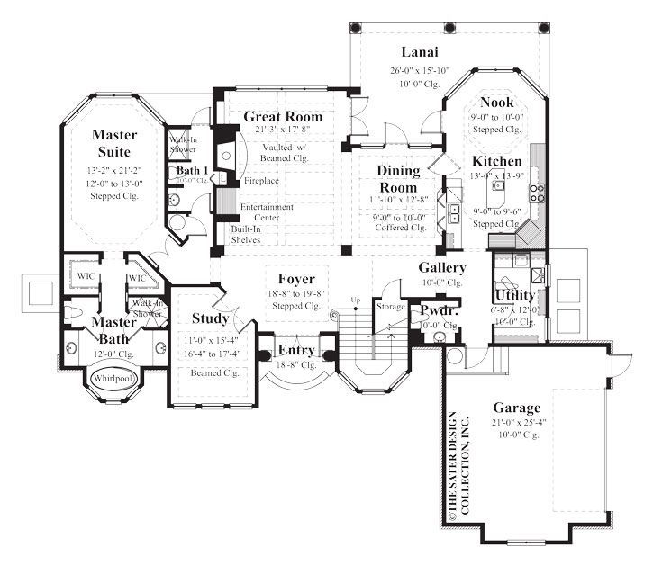 Master On Main Floor Floor Plans Pinterest